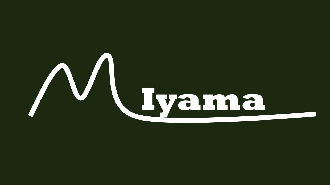 MIYAMA ロゴ